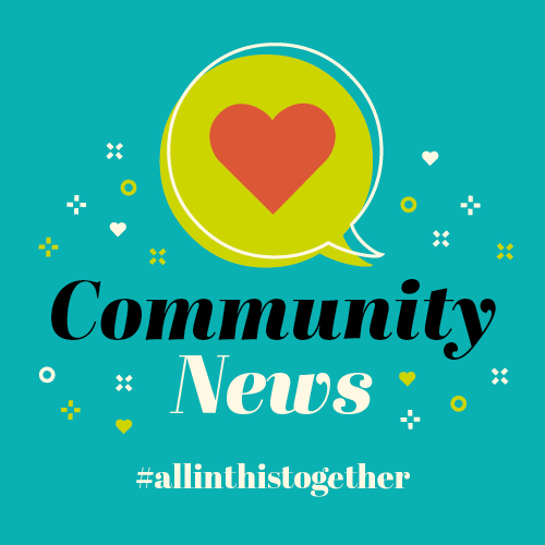 What's on in your community #allinthistogether